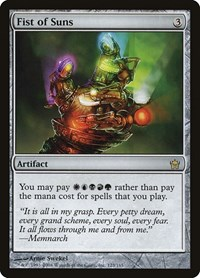 Fist of Suns, Magic: The Gathering, Fifth Dawn