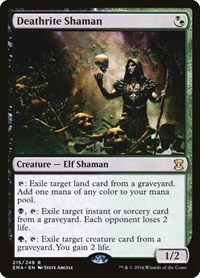 Deathrite Shaman, Magic: The Gathering, Eternal Masters