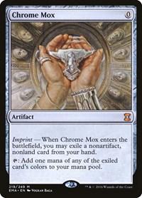 Chrome Mox, Magic: The Gathering, Eternal Masters