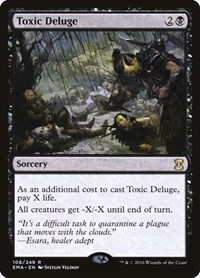 Toxic Deluge, Magic: The Gathering, Eternal Masters