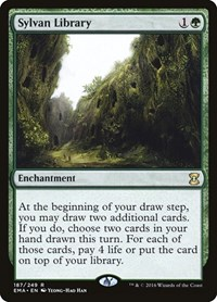 Sylvan Library, Magic: The Gathering, Eternal Masters