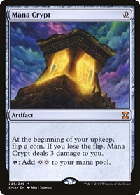 Mana Crypt, Magic: The Gathering, Eternal Masters
