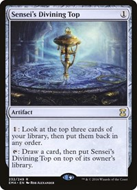 Sensei's Divining Top, Magic: The Gathering, Eternal Masters