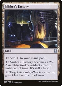Mishra's Factory, Magic: The Gathering, Eternal Masters