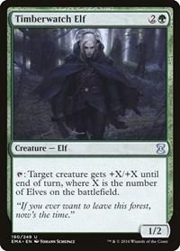 Timberwatch Elf, Magic, Eternal Masters