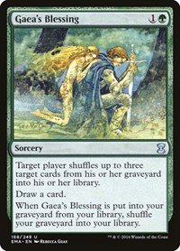 Gaea's Blessing, Magic, Eternal Masters