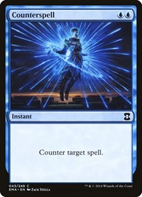 Counterspell, Magic: The Gathering, Eternal Masters