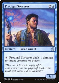 Prodigal Sorcerer, Magic: The Gathering, Eternal Masters