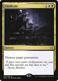 Vindicate, Magic: The Gathering, Eternal Masters
