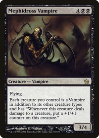 Mephidross Vampire, Magic: The Gathering, Fifth Dawn