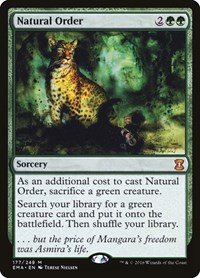 Natural Order, Magic: The Gathering, Eternal Masters