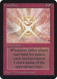 Mana Flare, Magic: The Gathering, Alpha Edition