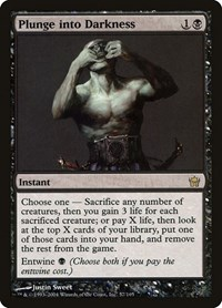 Plunge into Darkness (Foil)