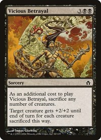 Vicious Betrayal, Magic: The Gathering, Fifth Dawn
