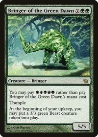 Bringer of the Green Dawn, Magic: The Gathering, Fifth Dawn