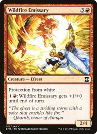 Wildfire Emissary, Magic: The Gathering, Eternal Masters