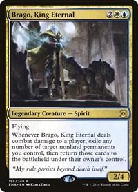 Brago, King Eternal, Magic: The Gathering, Eternal Masters