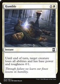 Humble, Magic: The Gathering, Eternal Masters