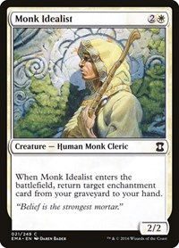 Monk Idealist, Magic: The Gathering, Eternal Masters