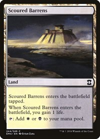 Scoured Barrens, Magic: The Gathering, Eternal Masters