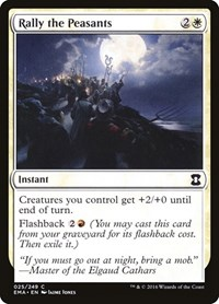 Rally the Peasants, Magic: The Gathering, Eternal Masters