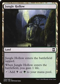 Jungle Hollow, Magic: The Gathering, Eternal Masters