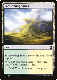 Blossoming Sands, Magic: The Gathering, Eternal Masters