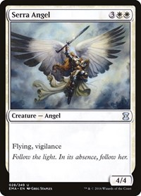 Serra Angel, Magic: The Gathering, Eternal Masters