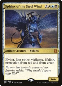 Sphinx of the Steel Wind, Magic: The Gathering, Eternal Masters