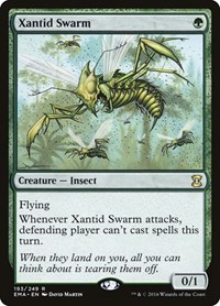 Xantid Swarm, Magic: The Gathering, Eternal Masters