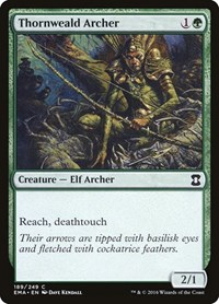 Thornweald Archer, Magic: The Gathering, Eternal Masters