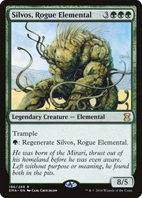 Silvos, Rogue Elemental, Magic: The Gathering, Eternal Masters