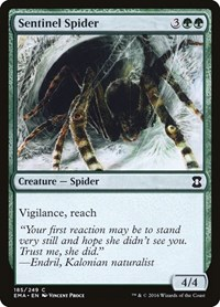 Sentinel Spider, Magic: The Gathering, Eternal Masters