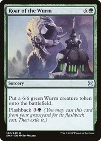 Roar of the Wurm, Magic: The Gathering, Eternal Masters