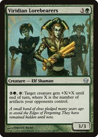 Viridian Lorebearers, Magic, Fifth Dawn