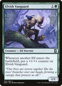 Elvish Vanguard, Magic: The Gathering, Eternal Masters