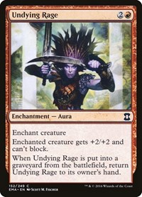 Undying Rage, Magic: The Gathering, Eternal Masters