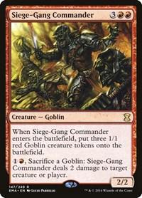 Siege-Gang Commander, Magic: The Gathering, Eternal Masters