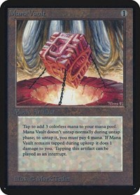 Mana Vault, Magic: The Gathering, Alpha Edition