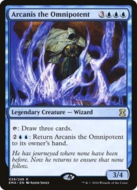 Arcanis the Omnipotent, Magic: The Gathering, Eternal Masters