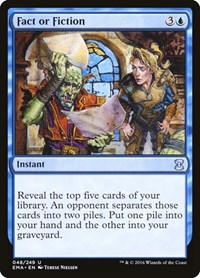 Fact or Fiction, Magic: The Gathering, Eternal Masters