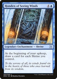 Honden of Seeing Winds, Magic: The Gathering, Eternal Masters