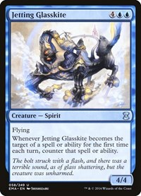 Jetting Glasskite, Magic: The Gathering, Eternal Masters