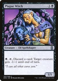 Plague Witch, Magic: The Gathering, Eternal Masters