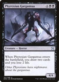 Phyrexian Gargantua, Magic: The Gathering, Eternal Masters