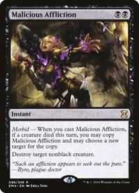 Malicious Affliction, Magic: The Gathering, Eternal Masters