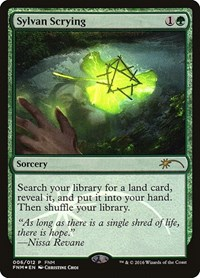 Sylvan Scrying, Magic: The Gathering, FNM Promos