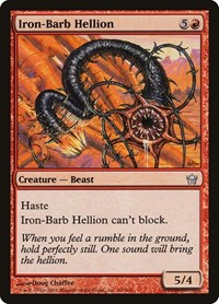Iron-Barb Hellion, Magic: The Gathering, Fifth Dawn