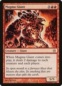 Magma Giant, Magic: The Gathering, Fifth Dawn