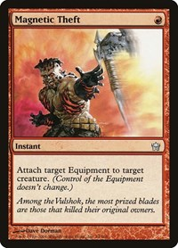 Magnetic Theft, Magic: The Gathering, Fifth Dawn